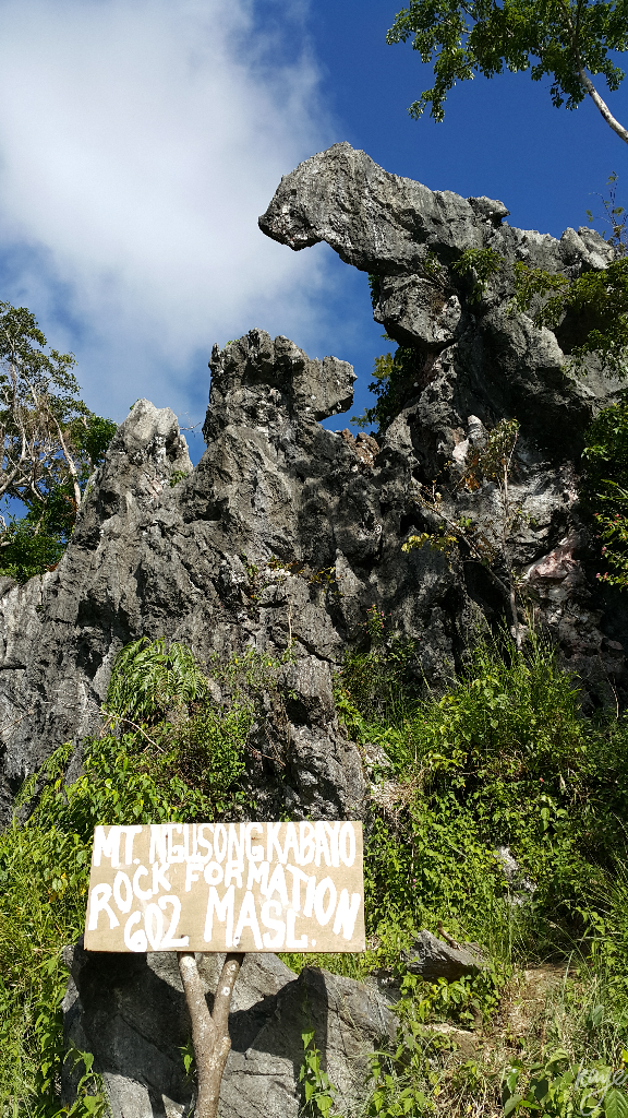 Rock formations of Rizal