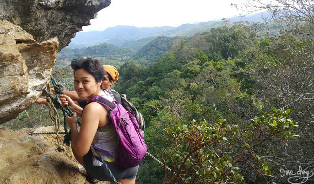 Hiking Nagpatong Rock