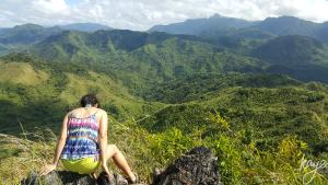 View from Tangwa Peak