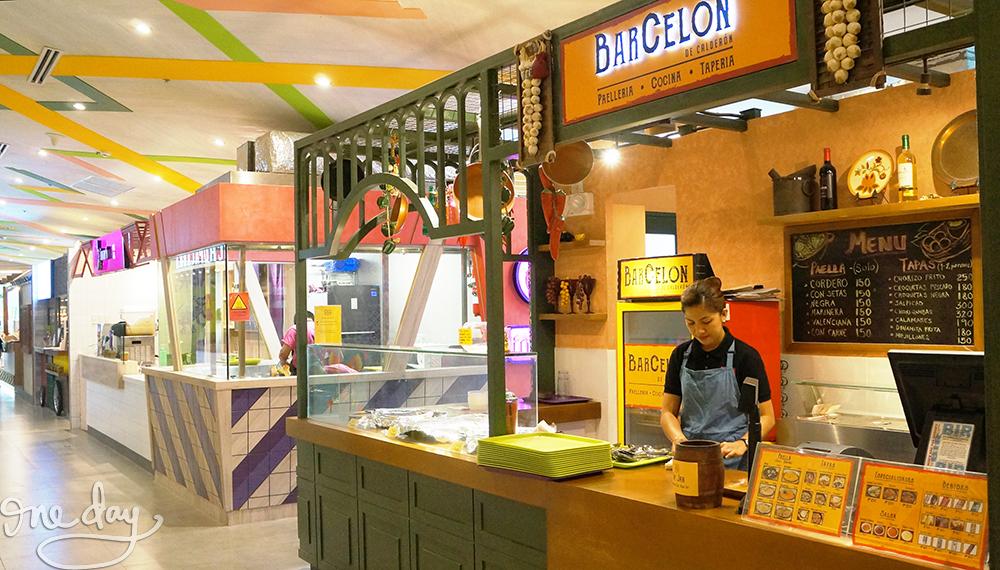Corner Market is the Podium's newest food hall
