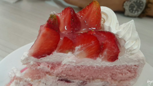 Vizco's famous Strawberry Shortcake