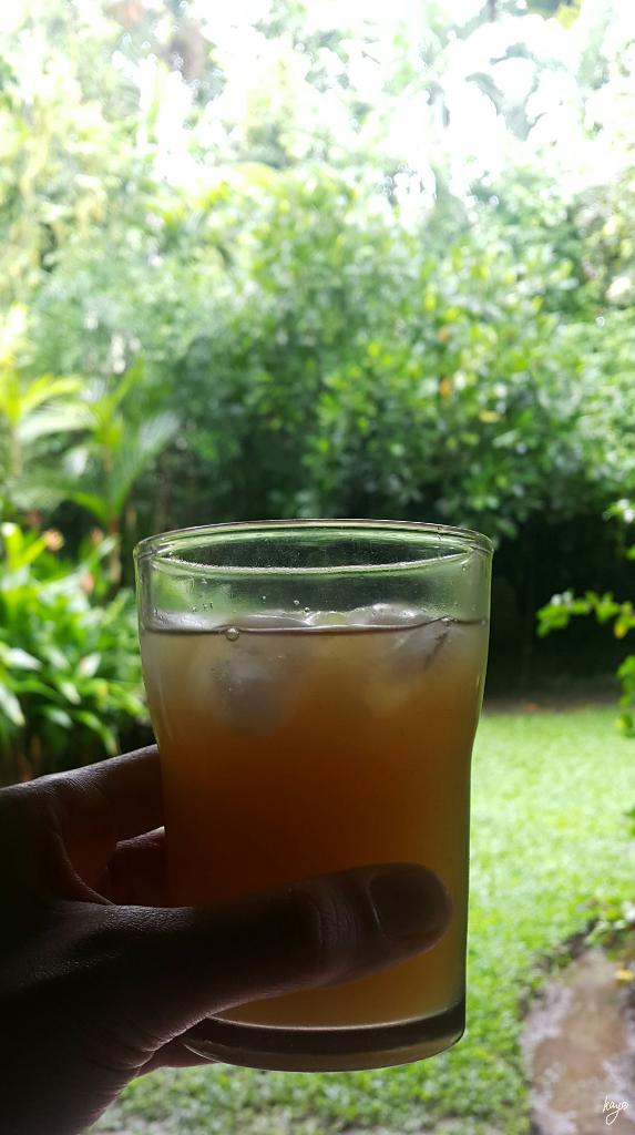 Honey sweetened lemonade