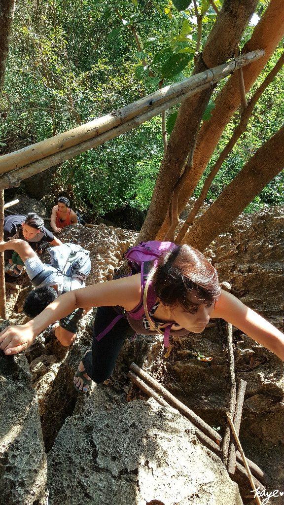 Rock climbing and scrambling