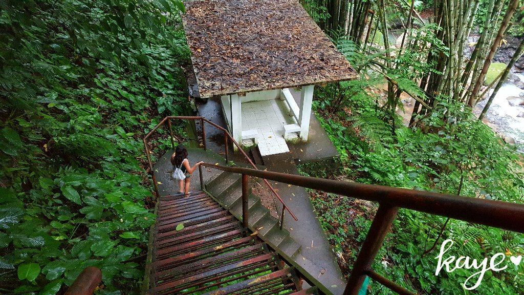 Casaroro Falls Stairs