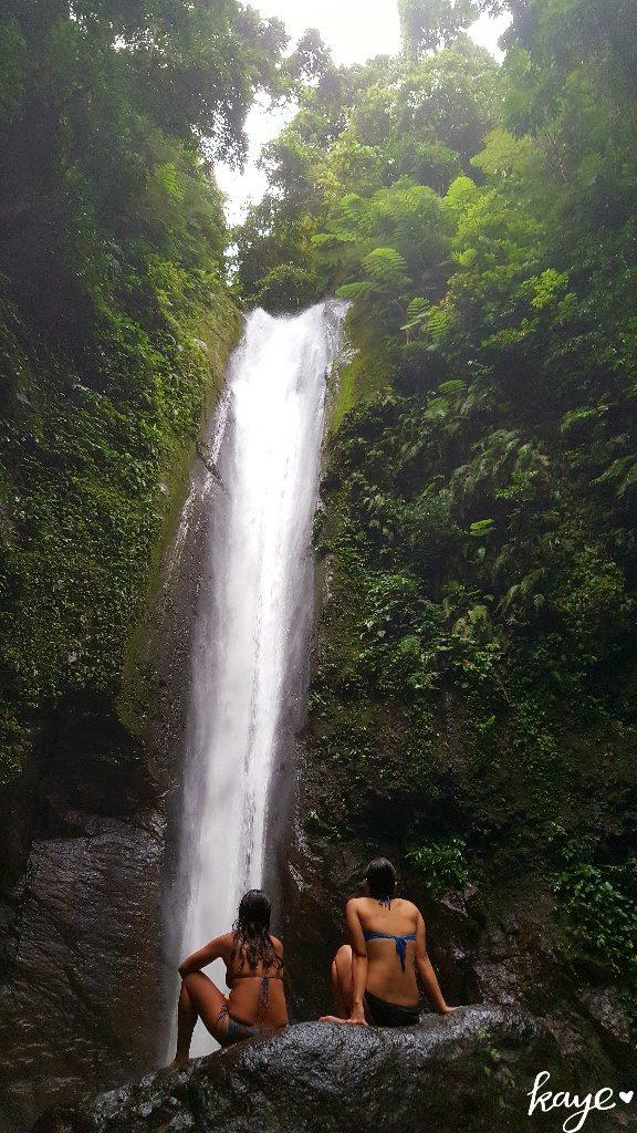 Admiring Casaroro Falls