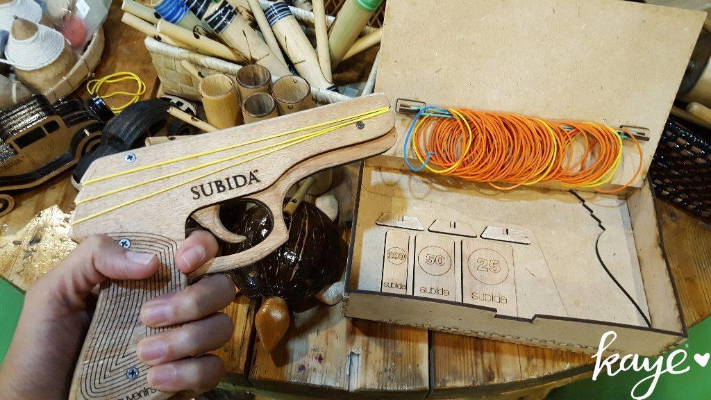 """Wooden toy """"gun"""""""