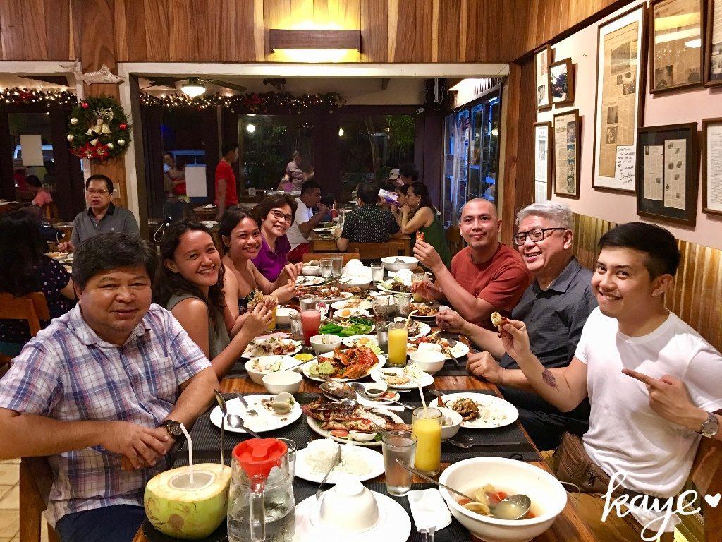 Last dinner in Dumaguete