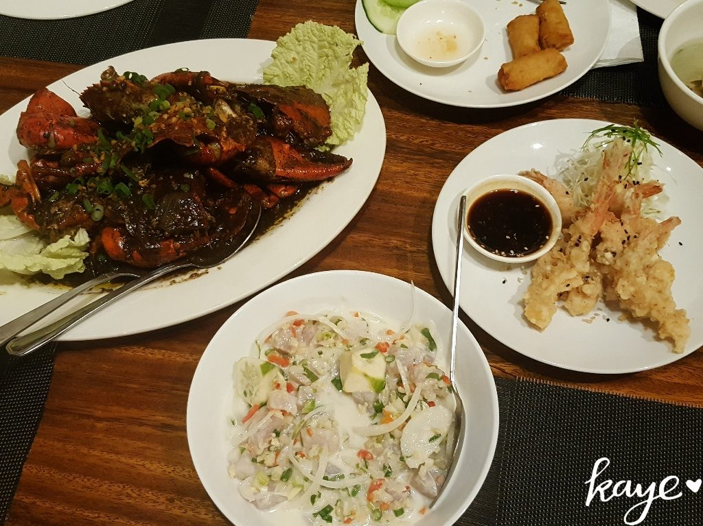 Lab-As Restaurant in Dumaguete serves delicious seafood