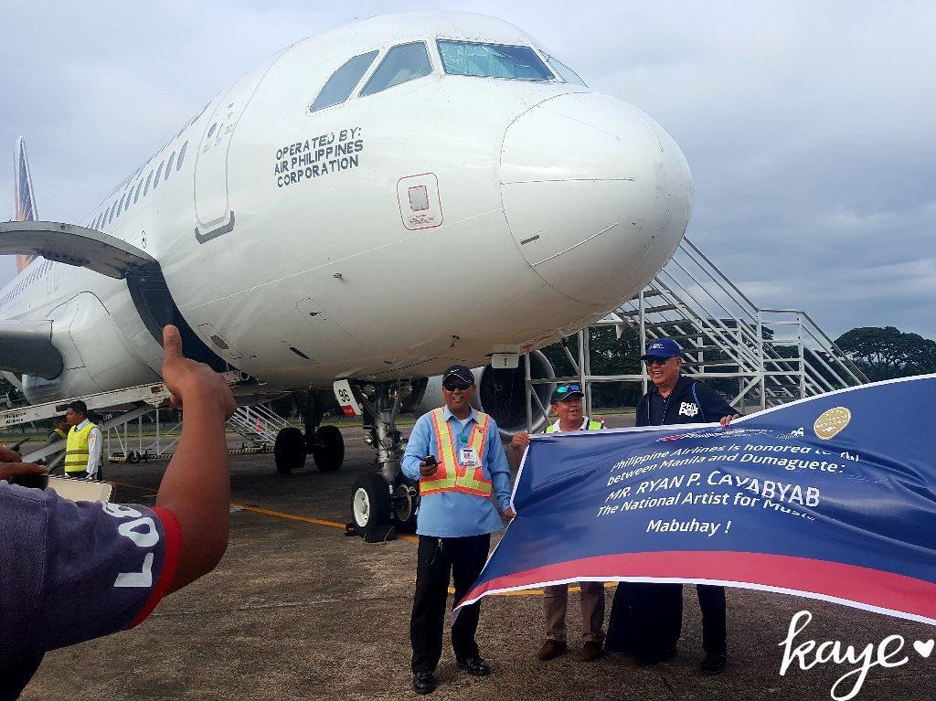 Philippines Airlines honors Ryan Cayabyab