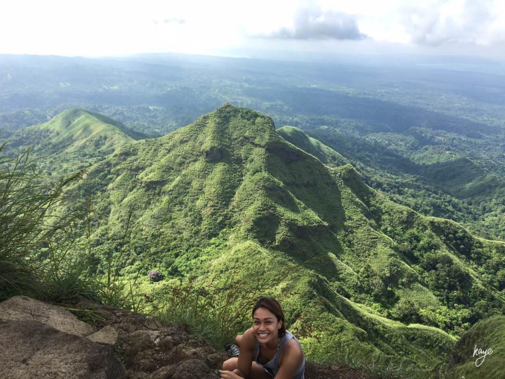 Summit view of Mt. Batulao