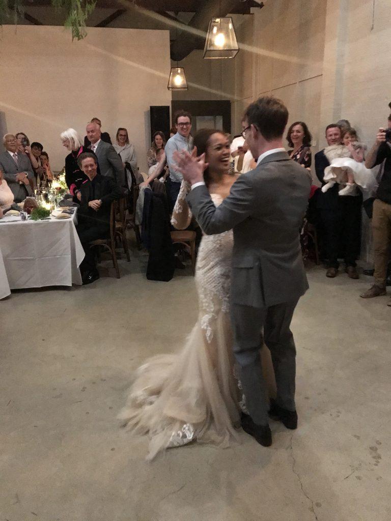 Couple's 1st dance