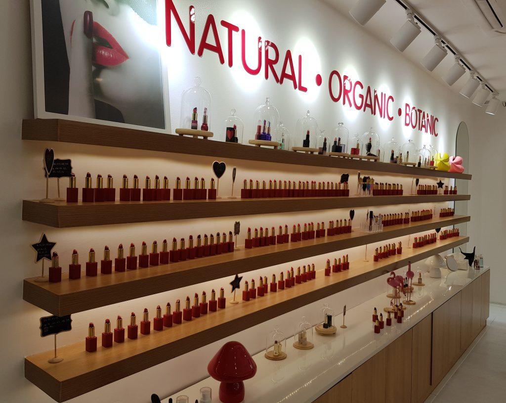 150 shades of lipstick on display