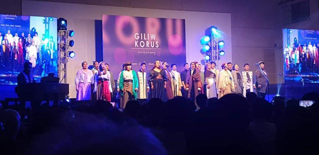 Choir singing Les Miserables Medley